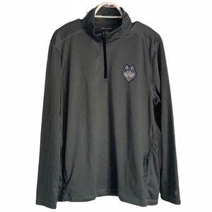 Champion UConn athletic shirt grey size large